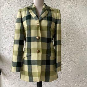 Mondi Vintage Plaid Jacket